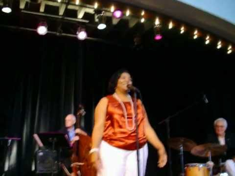 Cynthia Simmons at the OK Jazz Hall Of Fame