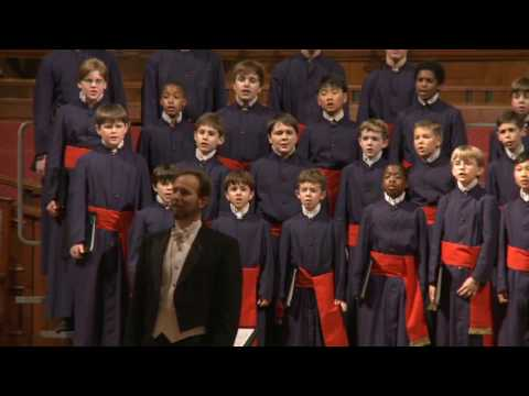 David R. White and the Atlanta Boy Choir - Gesu Bambino Video