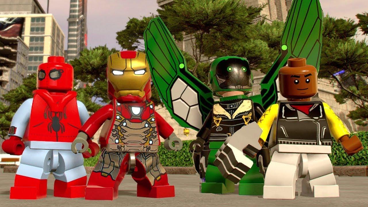 Lego marvel superheroes peter parker