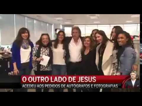 Jorge Jesus espalha charme nos estúdios da cofina