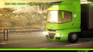 Valeo Truck Wiper Systems with a Flat Blade technology