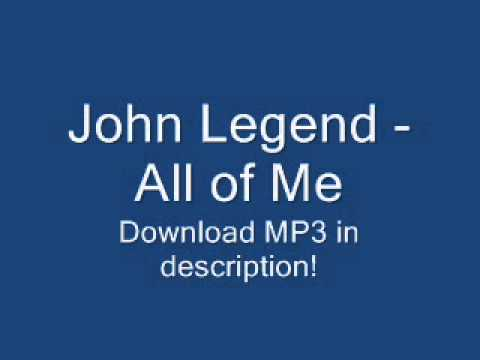 John Legend - All of Me 2013 NEW SONG + LYRICS + MP3 (Album...