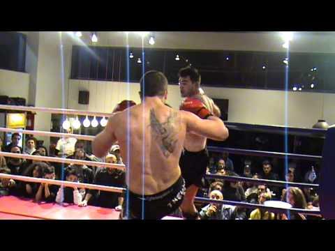 Nikos Kelekis vs Christos Kouzios Part 1 - Joya kickboxing championship 2012