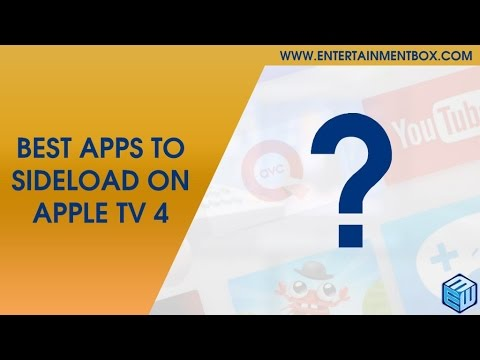 Best apps to sideload Apple TV 4, list of sideload apps Apple TV 4