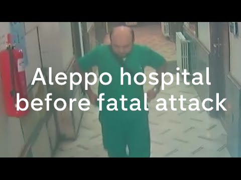 Aleppo hospital attack: CCTV footage shows Al Quds air strike in Syria