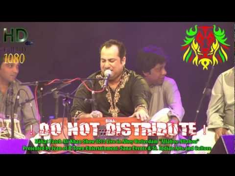 Rahat Fateh Ali Khan-Teri Meri live in Ahoy Rotterdam 2012 HD...