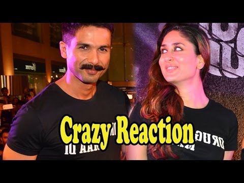 Shahid Kapoor's Crazy Reaction On Reuniting With Kareena Kapoor Khan After 9years!