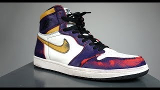 First impression of the NIKE SB X AIR JORDAN 1 'LA TO CHICAGO' (SKATEBOARDING IN THEM)