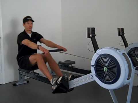 Rowe Concept Concept 2 Rowing Technique
