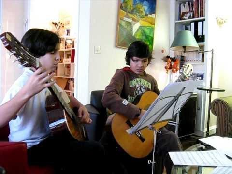 first attempt reading duo robert de visee
