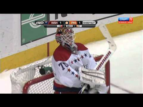 Shootout Washington Capitals vs Philadelphia Flyers game on March 22, 2012