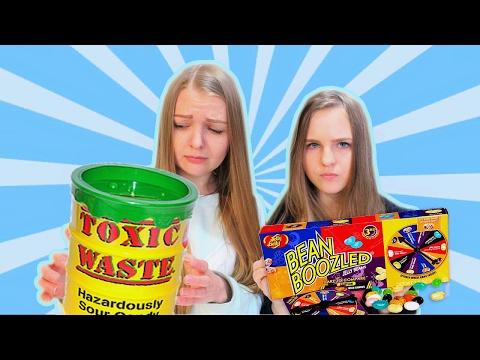 BEAN BOOZLED + TOXIC WASTE ЧЕЛЛЕНДЖ | АЛИСА ЛИСОВА | ВЫЗОВ ПРИНЯТ
