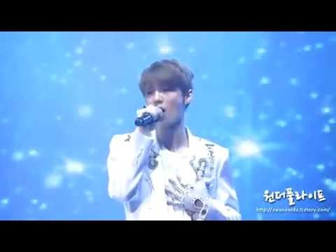 [FANCAM] 120331 EXO showcase Baby Don't Cry (Luhan focused)