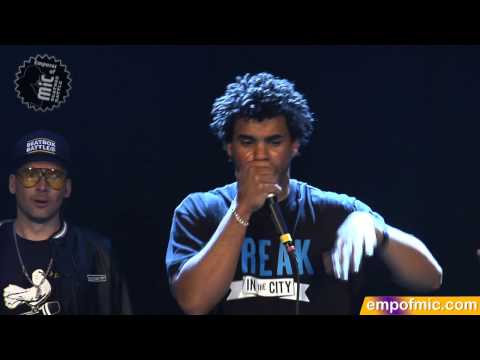 FINAL Beasty vs. Ball-Zee 2012 Emperor of MiC Final Beatboxing