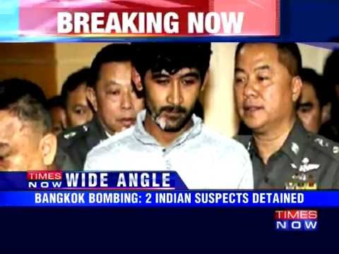 Bangkok blast: Two Indians detained