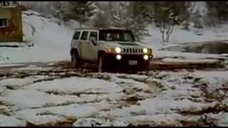 Kurdistan CARs -- HUMMER H3 IN SNOW - DUHOK