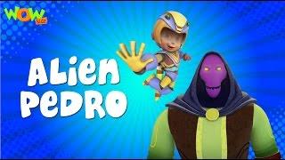 Alien Pedro - Vir: The Robot Boy- Kid's animation cartoon series