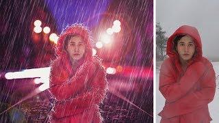 Rain in city photo manipulation | photoshop tutorial cs6/cc