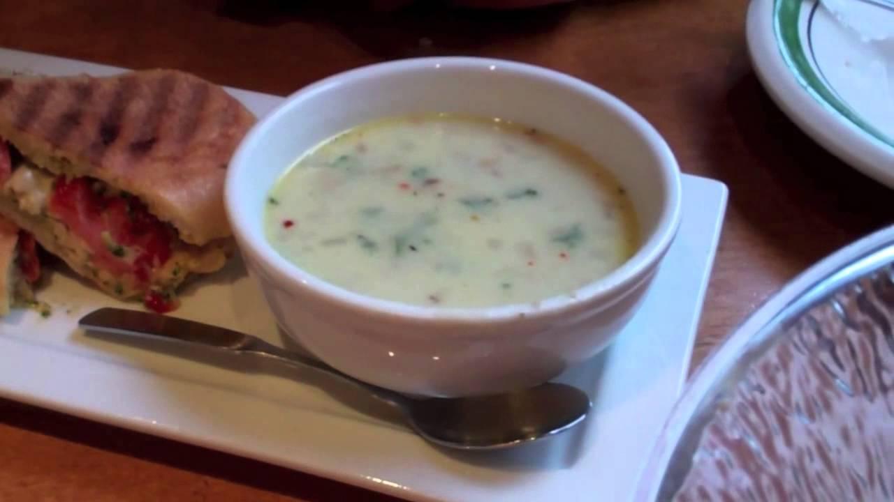 olive garden restaurant lunchchicken capresezuppa