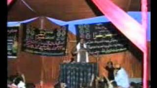Manzoor Solangi majlis in sindhi  at Sher Ali Shah Daur on june 8 Rajab 2011 masaib Bibi Fatima SA part =2=