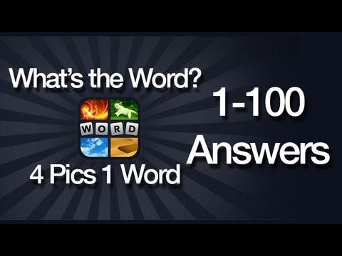 What's The Word? 4 Pics 1 Word Answers for Android 1-100
