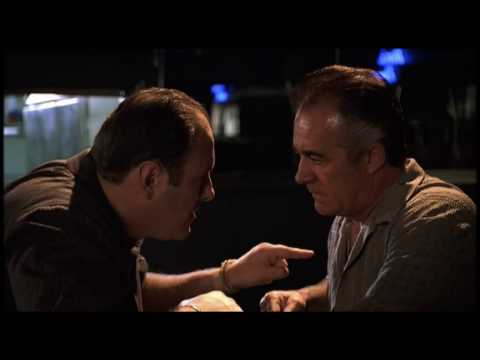 The Sopranos Episode 11 Tony & Paulie Discuss Pussy's Wire At The Bada Bing video