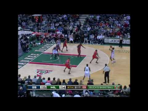 55 points - Brandon Jennings - Watch Every Single Point
