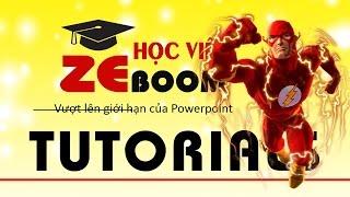 Powerpoint: Hiệu ứng di chuyển độc đáo với ZEBOOM
