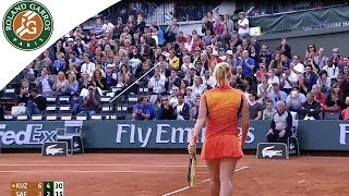 S. Kuznetsova v. L. Safarova 2014 French Open Women