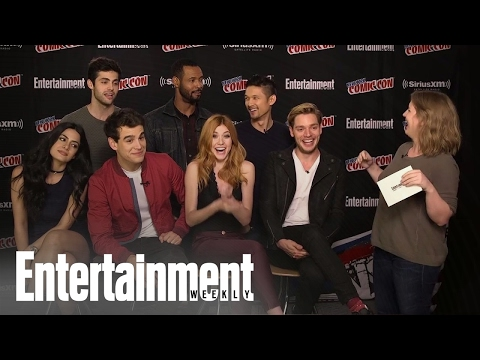 'Shadowhunters' Cast Talks Season 2 At NYCC 2016 | Entertainment Weekly