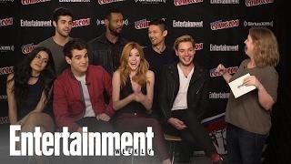 'Shadowhunters' Cast Talks Season 2 At NYCC 2016 | Entertainment Weekly