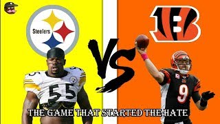 Greatness from The Past  Steelers Vs Bengals 2005
