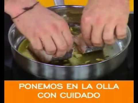 Segundos platos-Merluza a la vasca