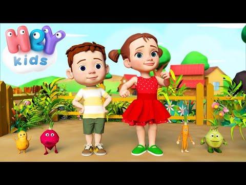 Песенка про овощи - Развивающие мультфильмы для детей