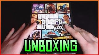 Grand Theft Auto V PC - Unboxing BG