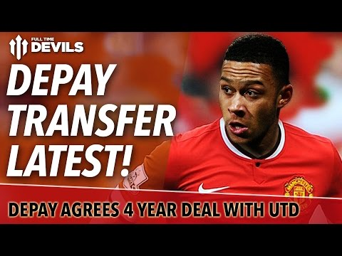Memphis Depay To Sign For Manchester United! | Depay Transfer Latest