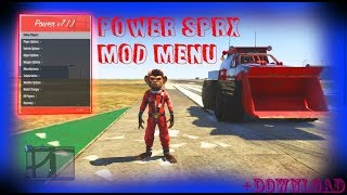 GTA 5 Power mod menu (PS3/XBOX360) DOWNLOAD + SHOWCASE