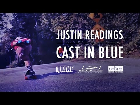 Switchback Longboards x Sabre Trucks: Cast in Blue featuring Justin Readings