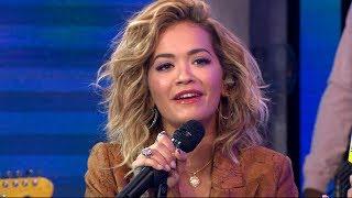 Rita Ora talks hosting 'Boyband' and new music
