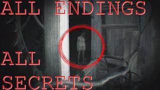 ALL ENDINGS / SECRETS + STORY ANALYSIS RESIDENT EVIL 7: BEGINNING HOUR