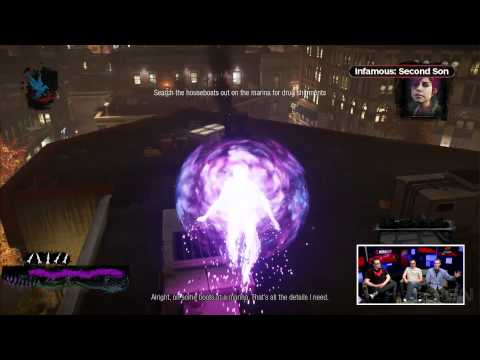 Is Cole in Infamous: Second Son IGN Live Presents: Infamous: Second Son