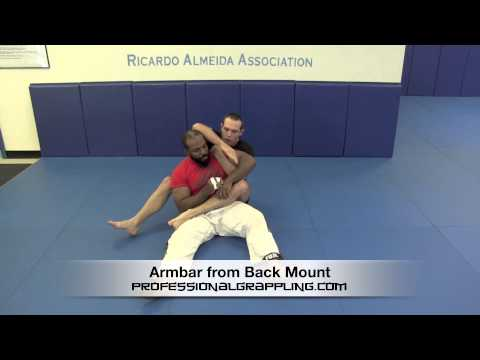 Armbar from Back Mount - with Keith Egan - Profesional Grappling League™ Instructional Image 1