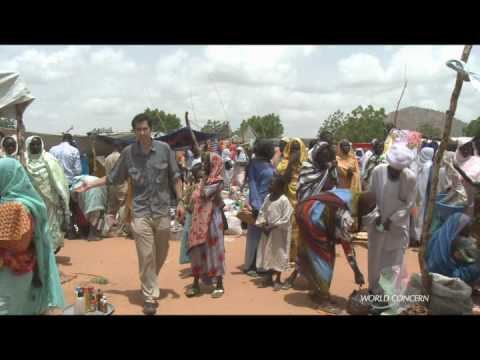 Darfur War Refugees Go To Work