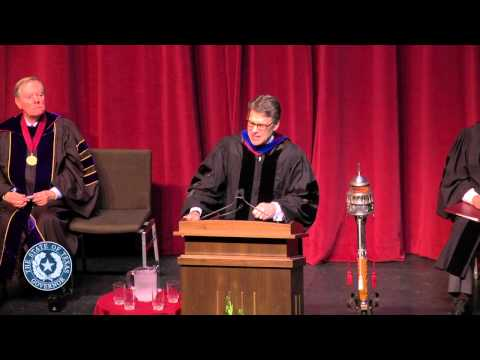 Gov. Perry's Remarks at Texas A&M Commencement Convocation