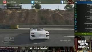 Grand Theft Auto 5 Any% Run Part 1: 8:36:48 World Record 10/3/13 Gameplay Speedrun Xbox360