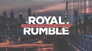 WWE ROYAL RUMBLE 2018 FANTASY BOOKING/DREAM MATCH CARD