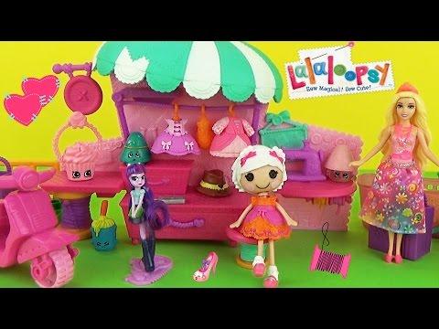 Мультик Барби принцесса Набор с куклами МИНИ ЛАЛАЛУПСИ, пони Искорка, Шопкинсы Play Set Dolls