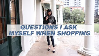 QUESTIONS TO ASK WHEN SHOPPING: How to be intentional with what you buy | Mademoiselle