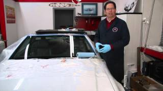 How to Remove Fine Windshield Wiper Scratches with Less Mess and Less Heat