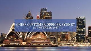 Chief Customer Officer Sydney 2017 Highlights